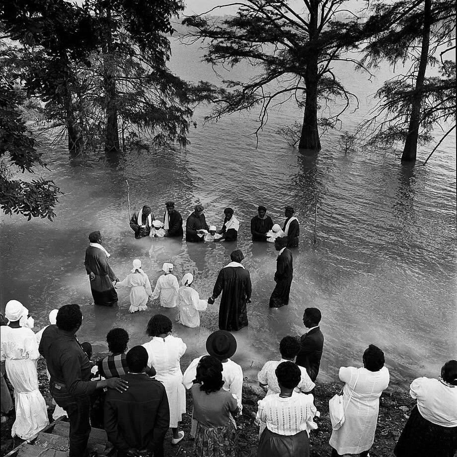 River baptism, Moon Lake, Coahoma County, Miss., 1989 Photo: Ken Light