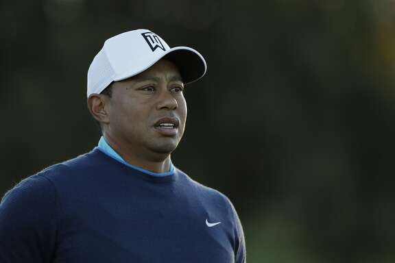 Tiger Woods during the pro-am event of the Farmers Insurance Open golf tournament Wednesday, Jan. 24, 2018, on the north course of the Torrey Pines Golf course in San Diego. (AP Photo/Gregory Bull)