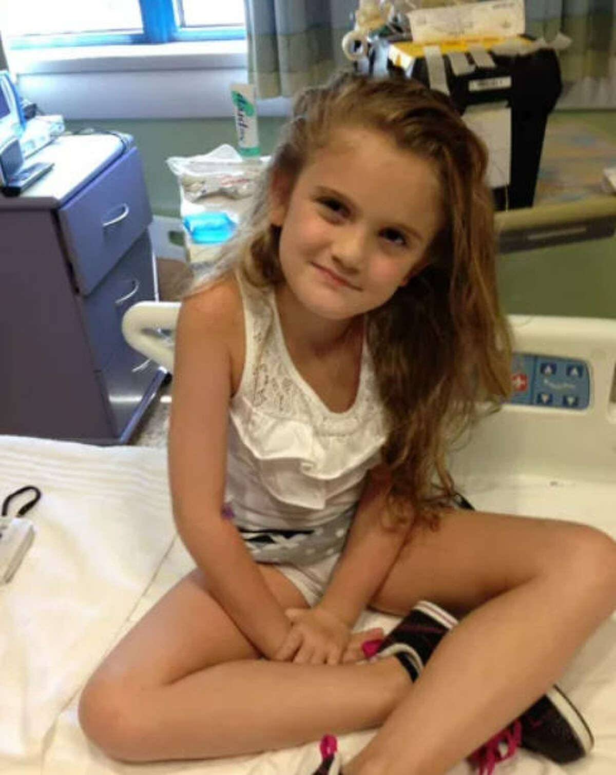 Sophia Campa-Peters, 9, of Brownfield, has captured the nation's attention after President Donald Trump answered her request for prayer before her brain surgery coming up on Friday.