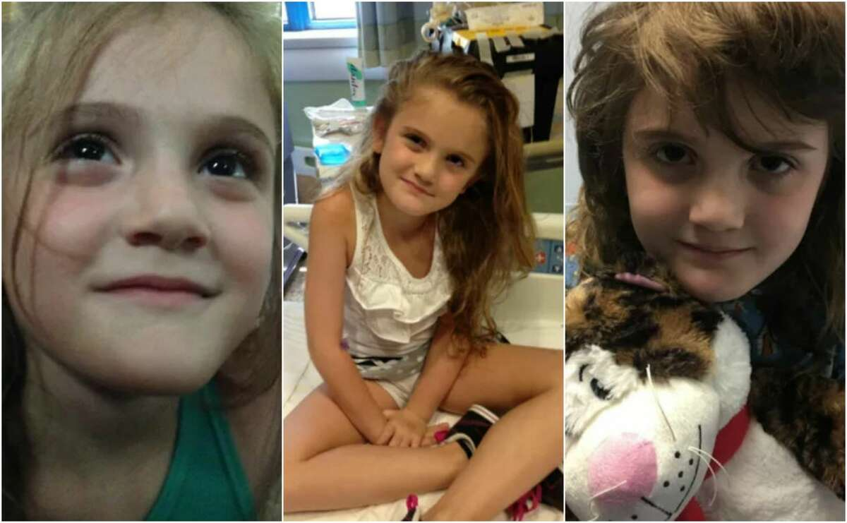 Sophia Campa-Peters, 9, of Brownfield, has captured the nation's attention after President Donald Trump answered her request for prayer on the eve of brain surgery Friday.