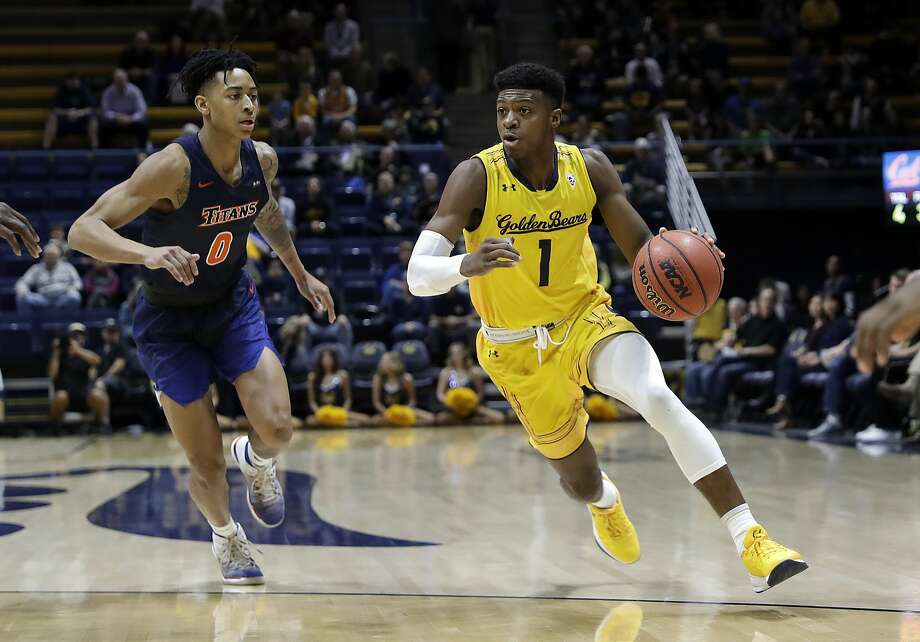 Cal's Darius McNeill (1), shown against Cal State Fullerton in December, is showing signs of pulling out of his January funk. Photo: Marcio Jose Sanchez, Associated Press