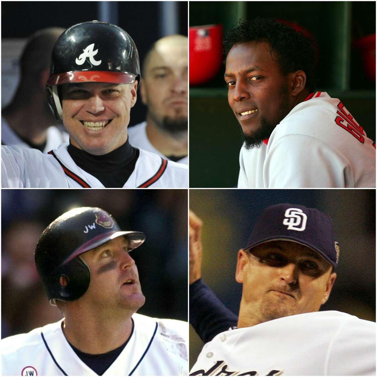 Chipper Jones, Jim Thome, Vladimir Guerrero and Trevor Hoffman have been elected to the baseball Hall of Fame.