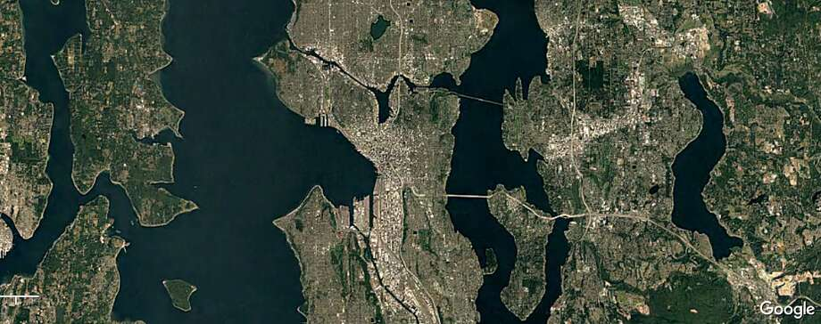 Seattle 2000 Photo: Google Timelapse