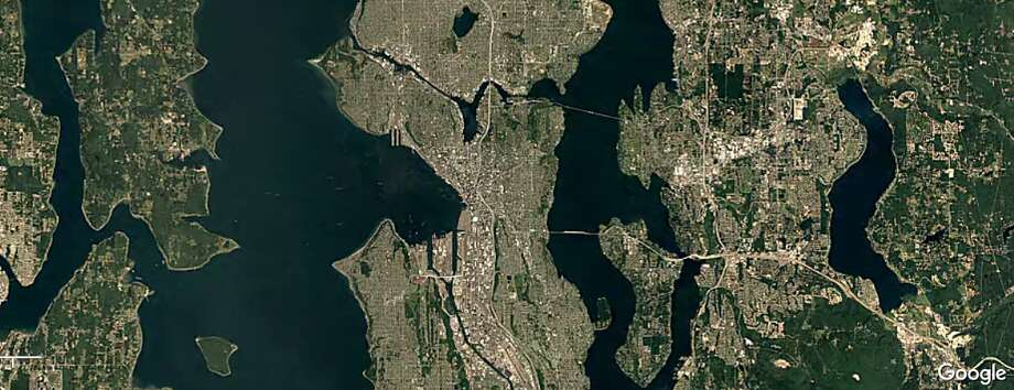 Seattle 1984 Photo: Google Timelapse