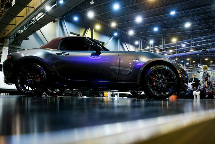 The 2018 Mazda MX-5 Miata is debuted during the first day of the Houston Auto Show at NRG Center Wednesday, Jan. 24, 2018 in Houston. ( Michael Ciaglo / Houston Chronicle)