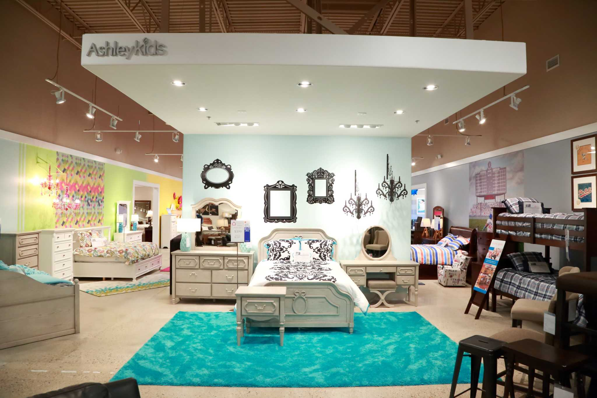 Retail Wrap Ashley Homestore Opens Three Locations Houston Chronicle