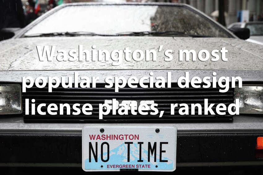 We pulled data from the state Department of Licensing to find out how many of each special-design license plate have been issued to Washington's drivers. One plate pulled way ahead of the rest, while we've never heard of some of the plates that lag behind.