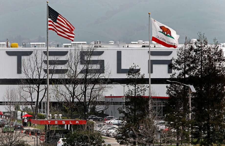 A California state agency has cited Tesla for safety violations. Photo: Michael Macor, The Chronicle