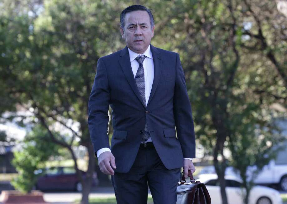 A federal jury is expected to begin deliberations today in the criminal fraud trial of state Sen. Carlos Uresti. He was indicted last year on 11 felony charges in connection with his roles at FourWinds Logistics, a now-defunct oilfield company. Photo: Bob Owen /San Antonio Express-News / San Antonio Express-News