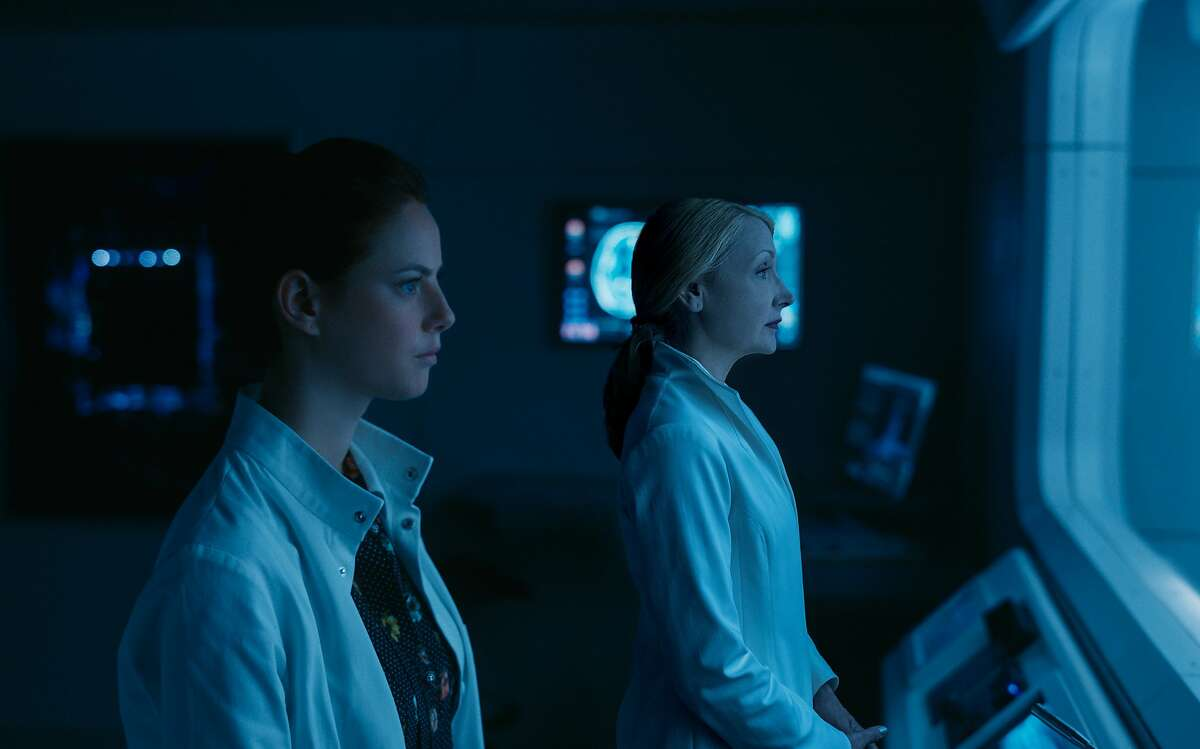 """This image released by Twentieth Century Fox shows Kaya Scodelario, left, and Patricia Clarkson in a scene from """"Maze Runner: The Death Cure."""" (Twentieth Century Fox via AP)"""