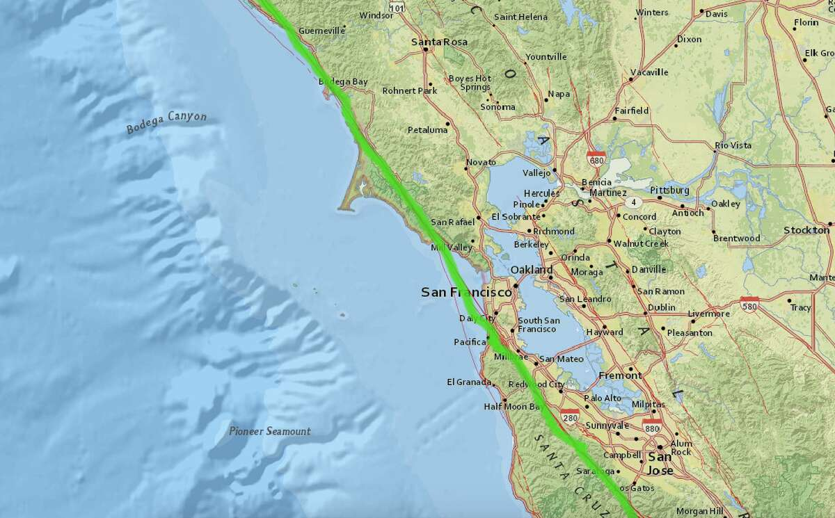 Which Fault Line Do I Live On A Guide To The Major Bay Area Faults