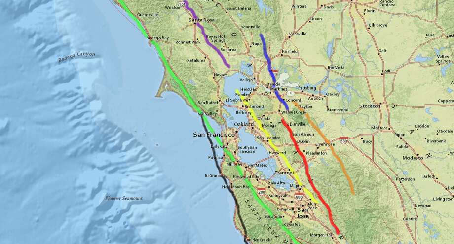Which fault line do I live on? A guide to the major Bay Area faults ...