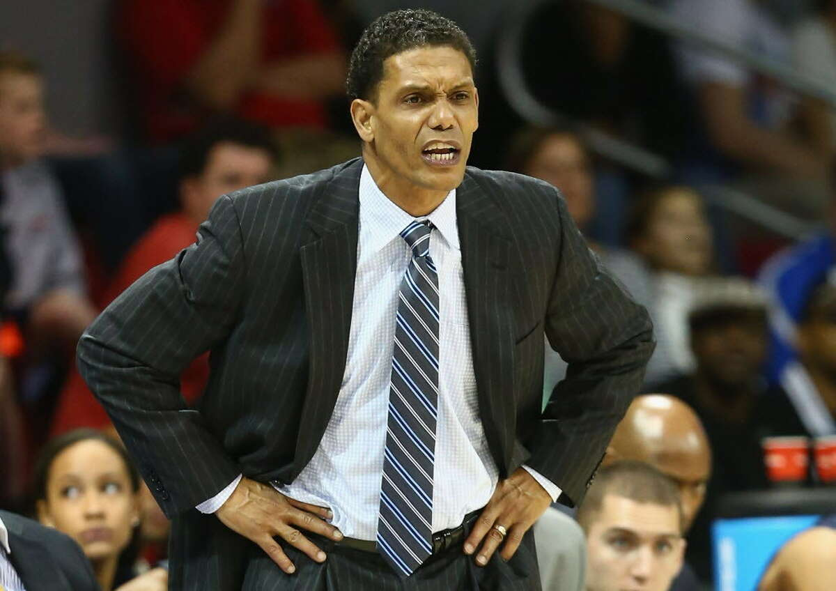 Monmouth head coach King Rice said his team, sitting in last place in the MAAC, won't feel sorry for itself. (Getty Images)