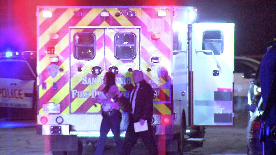 The shots rang out around 12:40 a.m. in the 600 block of West Mitchell Avenue. Authorities rushed to the scene, where they found the victim with a single gunshot wound in his leg. Photo: Ken Branca