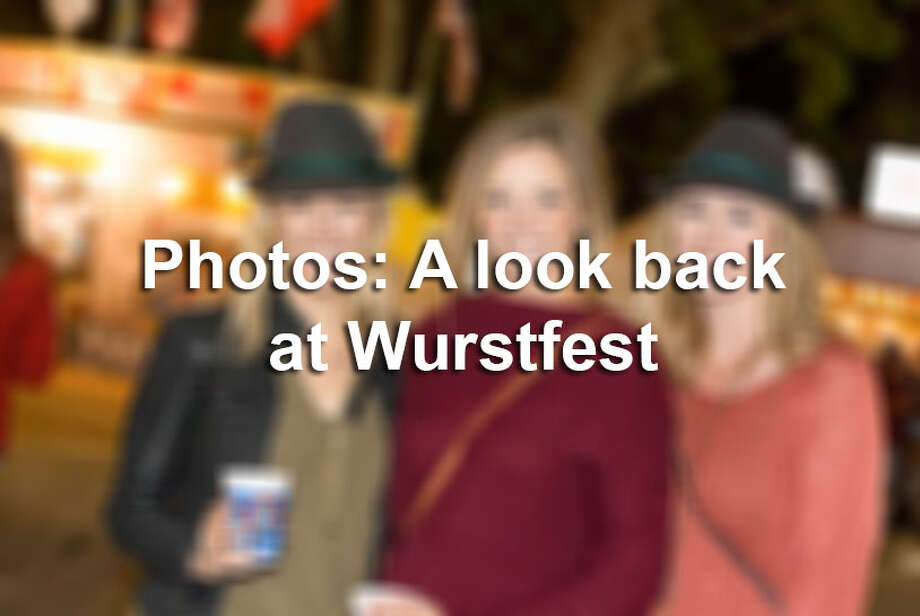 Central Texas' largest sausage fest Wurstfest had thousands saluting to the sausage for 10 straight days in November 2017. Click ahead for a look back at the fun event. Photo: FILE