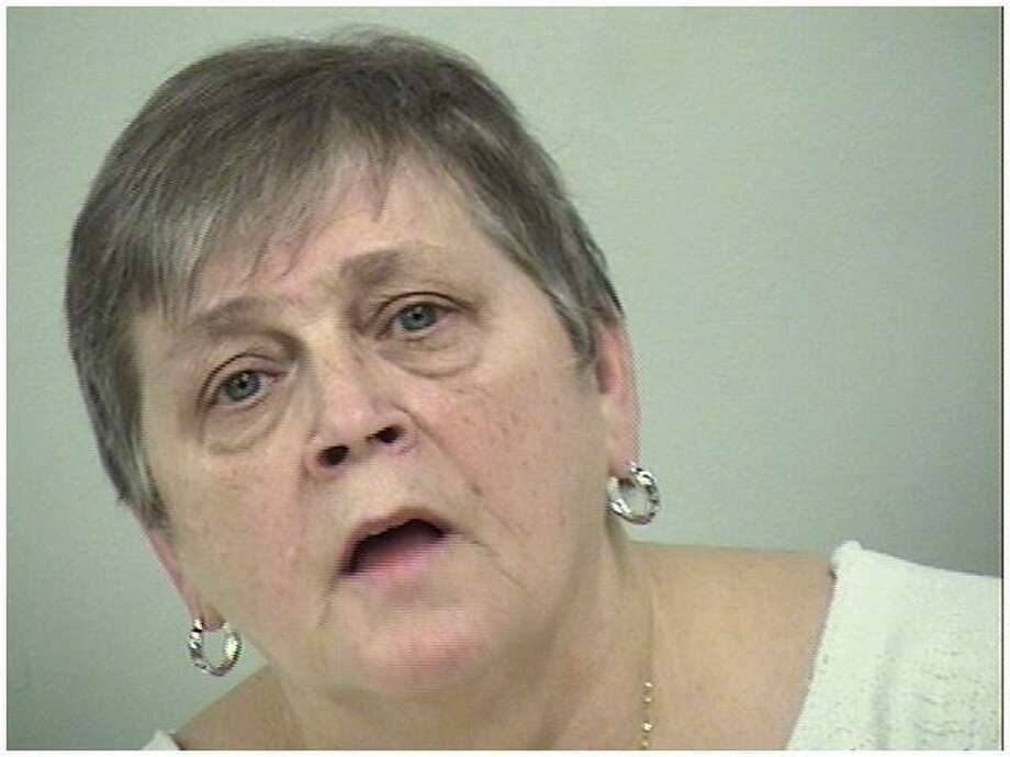 Kathy Deacon, 65, of Hyde Park, was arrested in Westport, CT, for larceny and conspiracy to commit, both of the sixth degree, on Feb. 2, 2018. Photo: Contributed Photo