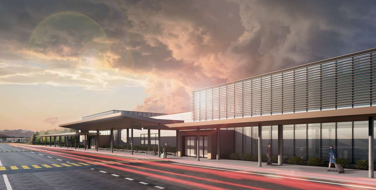 A rendering shows a new passenger terminal at Paine Field in Everett. Keep clicking to see how one survey ranked common travel annoyances...