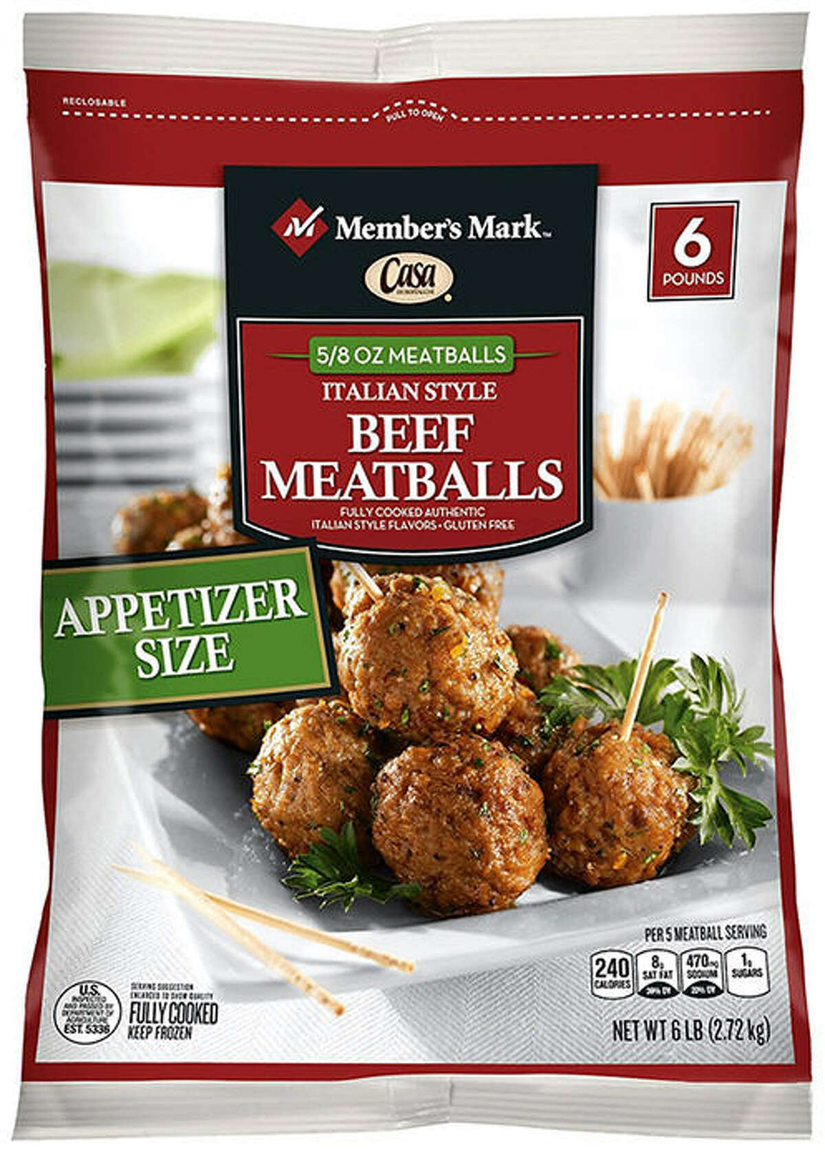 Wednesday evening, the United States Department of Agriculture announced that Rich Products Corporation is recalling 3,420 pounds of beef meatball products (pictured) that may be contaminated with listeria. Continue through the photos to see the other recalls announced recently.