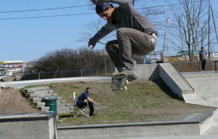 Day One Skate Shop is looking to raise the money needed to pay for an insurance policy that is required in order for them to act at the monitor at the town's skate park at the South Benson Marina. Fairfield,CT. 1/23/18 Photo: File Photo / File Photo / Fairfield Citizen
