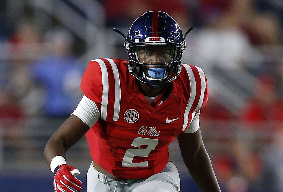 OXFORD, MS - OCTOBER 01:  Deontay Anderson #2 of the Mississippi Rebels defends during a game against the Memphis Tigers at Vaught-Hemingway Stadium on October 1, 2016 in Oxford, Mississippi.  (Photo by Jonathan Bachman/Getty Images) Photo: Jonathan Bachman/Getty Images