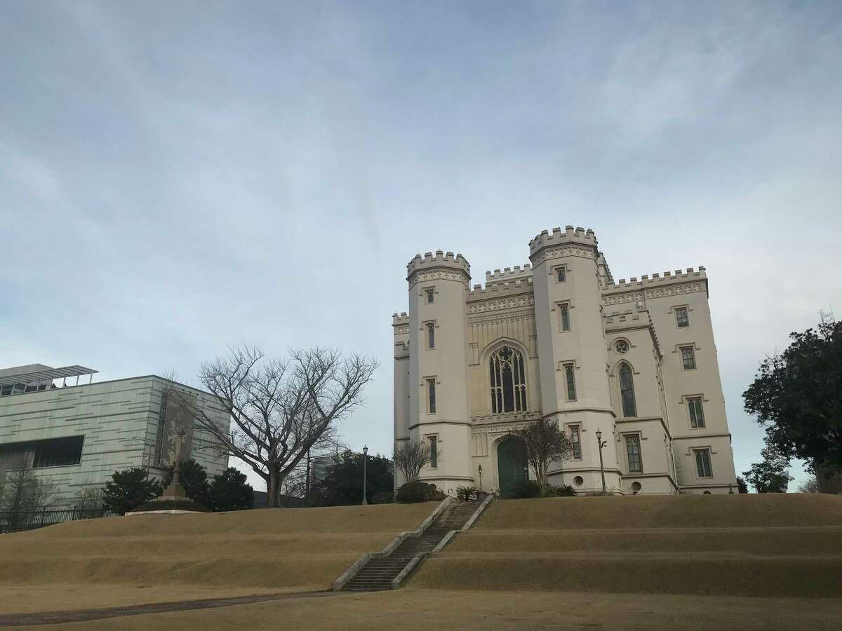 Louisiana's Old State Capitol in Baton Rouge