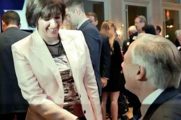 In this screen shot from a TV ad released Jan. 25, 2017, Republican House District 134 candidate Susanna Dokupil shakes hands with Gov. Greg Abbott. Abbott's campaign said he paid for the ad, but wouldn't say if more are coming in his quest to unseat incumbent Republican Rep. Sarah Davis.