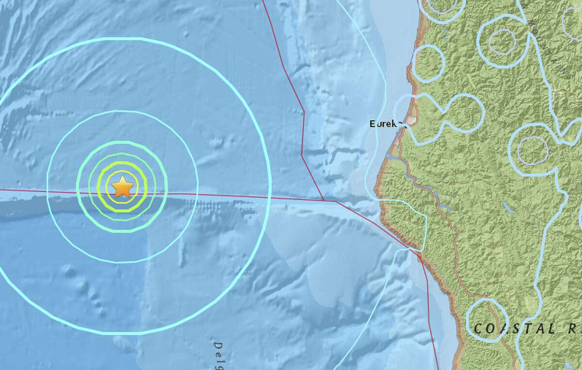 The preliminary 5.8 quake hit at 8:39 AM local time at a depth of 5 kilometers.
