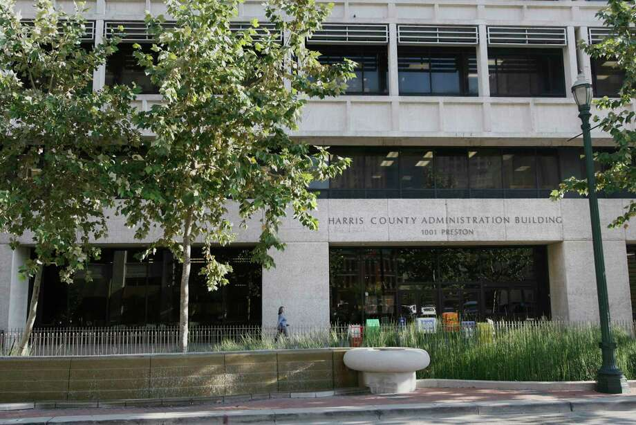 The Harris County Administration Building Photo: Kevin Fujii, Houston Chronicle / Houston Chronicle