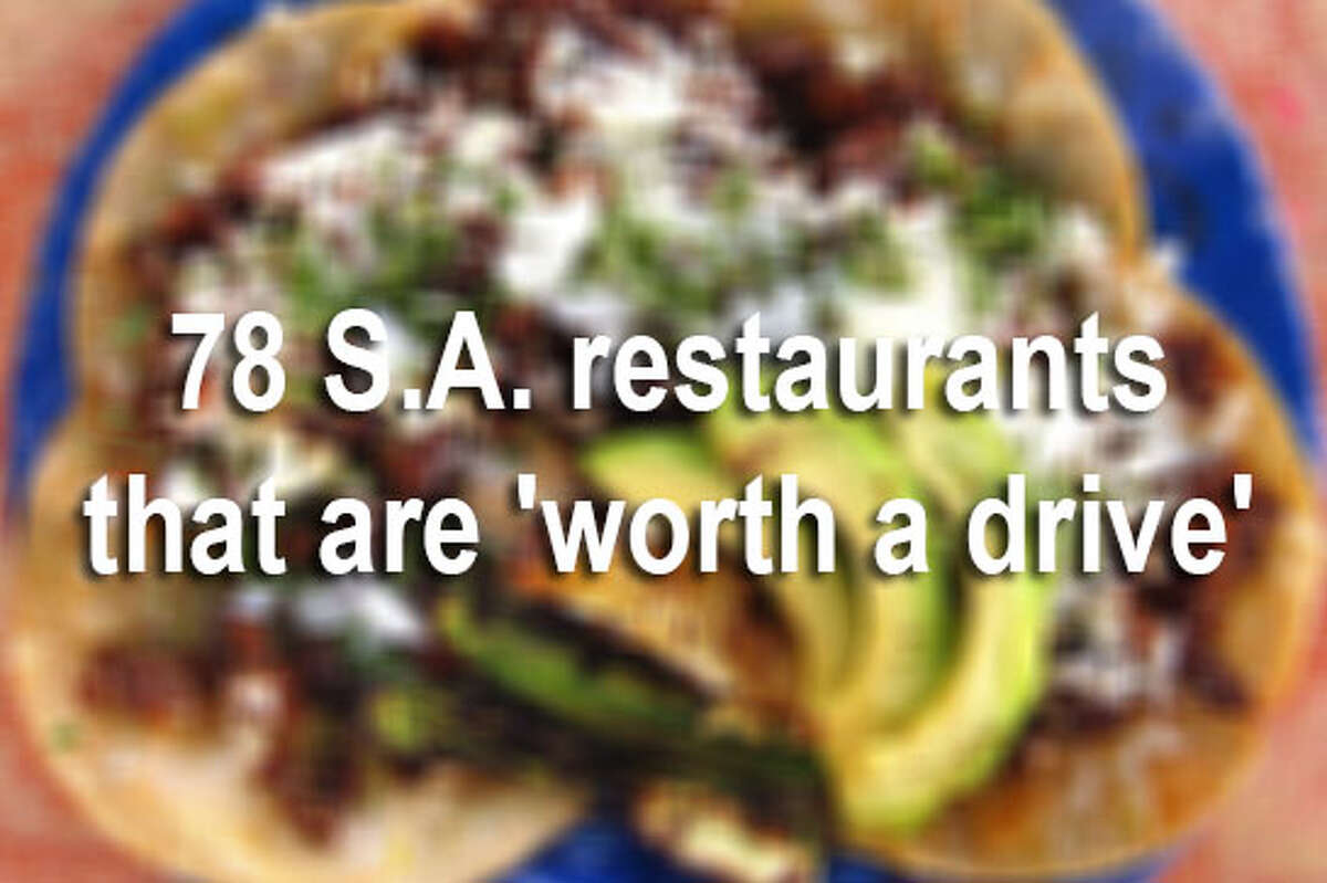 The end of 2017 marked the end of 365 Days of Tacos, a project taken on by the Express-News' Mike Sutter, doing exactly as the name suggests: eating tacos for a year. Click through the gallery to find out the restaurants worth a trip across town to try.
