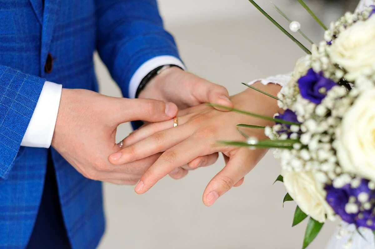 A couple wants a low-key wedding.
