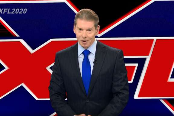 The return of the XFL was made official by Vince McMahon in a press conference Thursday afternoon.