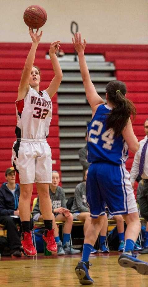 Olivia Parisi, Warde girls basketball Photo: Contributed / CONTRIBUTED
