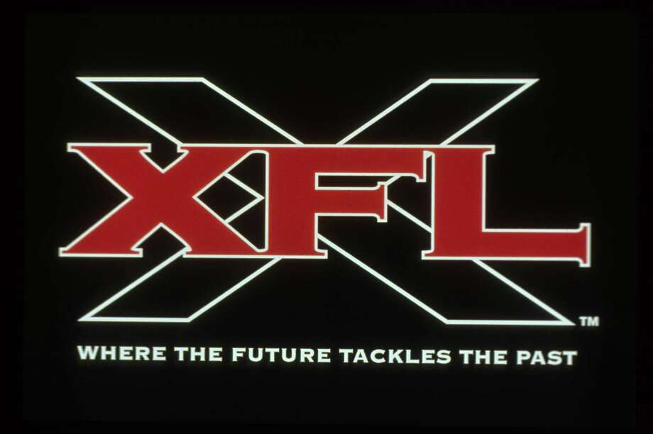 XFL Football logo wwe wwf