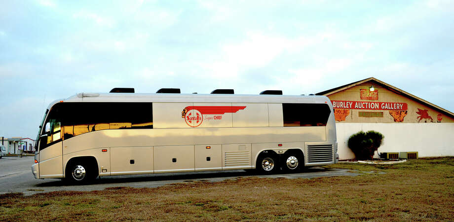 Bidding For Merle Haggard S Tour Bus In New Braunfels