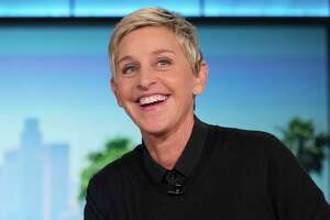 "FILE - In this Oct. 13, 2016, file photo, Ellen Degeneres appears during a commercial break at a taping of ""The Ellen Show"" in Burbank. DeGeneres is known for keeping her comedy on the nice side. But she lets her inner meanie out for ""Ellen's Game of Games."" That's NBC's new prime-time game show, which begins its regular run Tuesday, Jan. 2, 2018, after a December sneak peek. The hour-long show subjects its contestants to minor-league torments that, it turns out, delight host DeGeneres. (AP Photo/Andrew Harnik, File)"