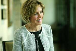 Interview with San Antonio City Manager Sheryl Sculley, at the Plaza de Armas Gallery on Tuesday, Sept. 19, 2017.
