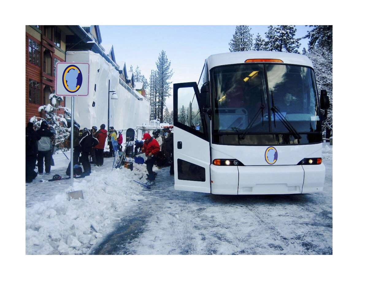 Tahoe Convoy will take passengers from the Bay Area to Lake Tahoe for a weekend getaway. Its maiden voyage is Feb. 2, 2018.