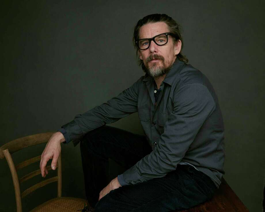 """My life feels like some braid of the past, present and future, and I wanted to make a movie about that,"" Ethan Hawke said. Photo: Taylor Jewell, INVL / 2018 Invision"