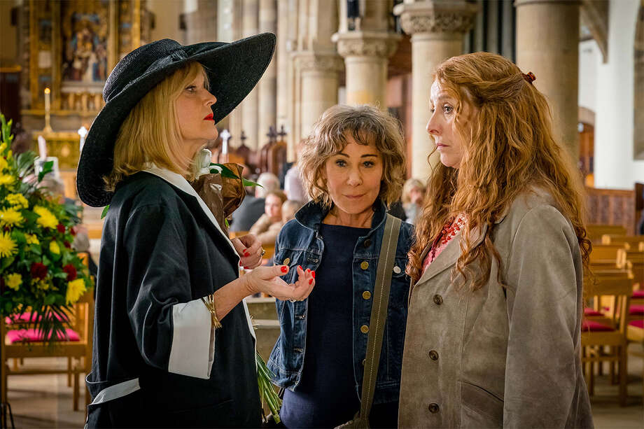 """Miranda Richardson, from left, Zoe Wanamaker and Phyllis Logan star in """"Girlfriends,"""" which is airing on Acorn TV. Photo: Acorn TV, Contributor / 2012 NBCUniversal, Inc."""