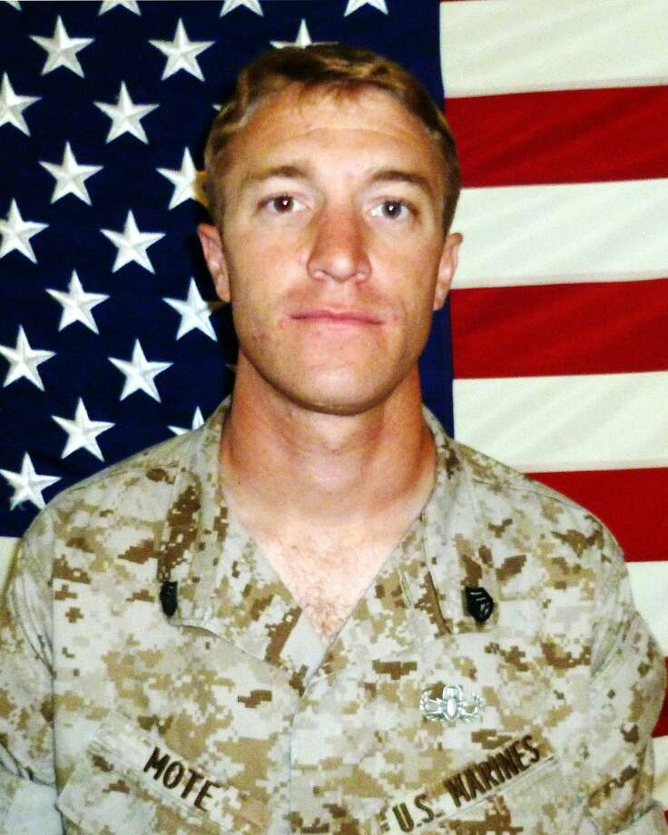 Marine  Staff Sgt. Sky Mote, 27, of El Dorado, Calif., was killed in Afghanistan in August 2012 while defending his fellow Marines. A peak in the John Muir Wilderness has been named after him to honor his bravery. Photo: USMC