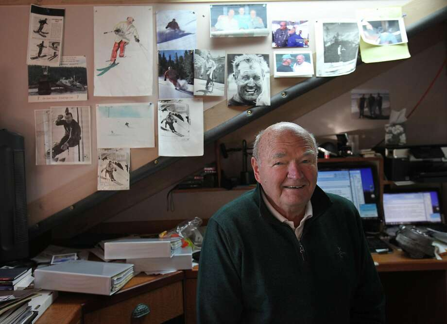 Warren Miller was inducted into the U.S. Ski Hall of Fame in 1978. Photo: Steve Ringman, TNS