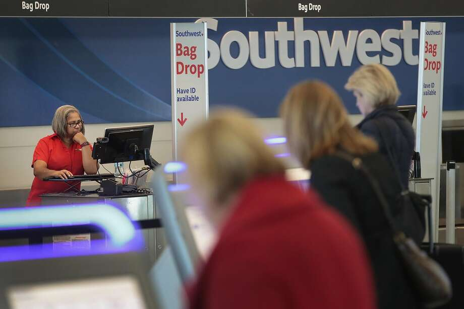 Southwest Airlines said that its fourth-quarter profit jumped to $1.89 billion, thanks partly to recent changes in the tax law. Photo: Scott Olson, Getty Images