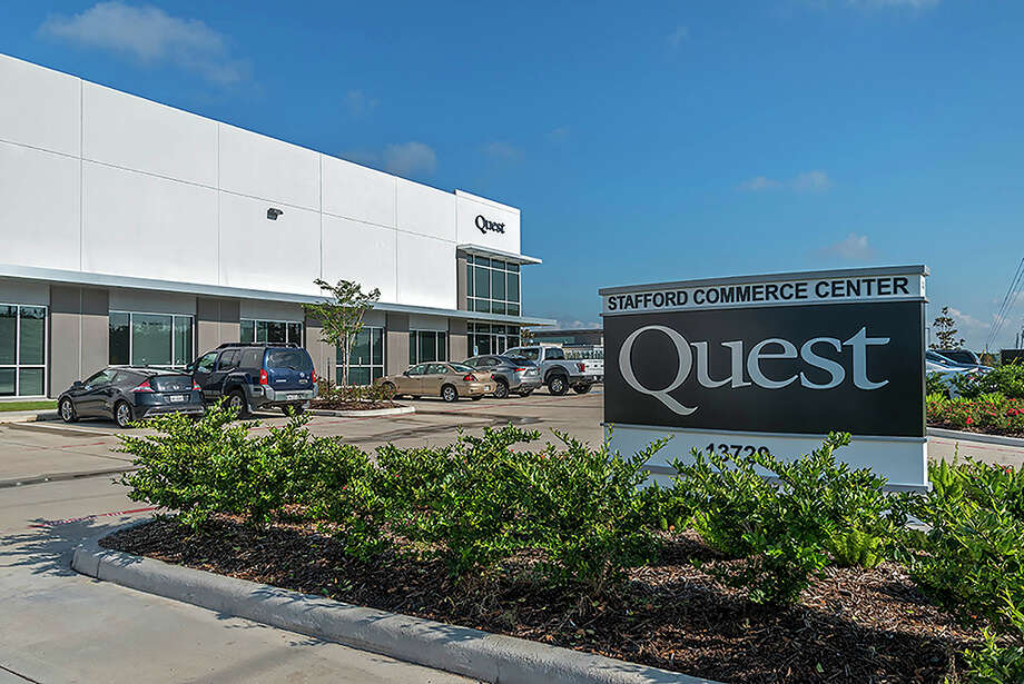Stafford Commerce Center is 100 percent leased to Quest Design and Fabrication. The facility at  13720 Stafford Road was constructed in 2016 and has 24-foot clear heights, a 130-foot truck court, 8,548 square feet of office space and 14 dock-high loading doors. A subsidiary of Stag Industrial has purchased the property. Photo: HFF