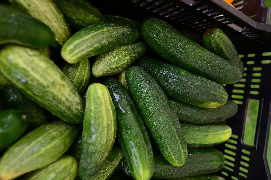 Add Cucumber Syrup Photo: Erik Trautmann, Hearst Connecticut Media
