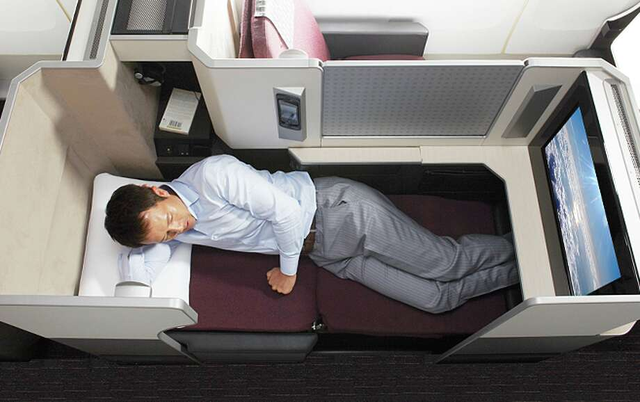 Japan Airlines First Class In Its B777 SkySuite Photo