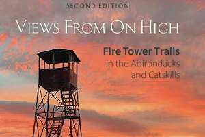 "The book cover from the recently released second edition of ""Views From On High: Fire Tower Trails in the Adirondacks and Catskills."""