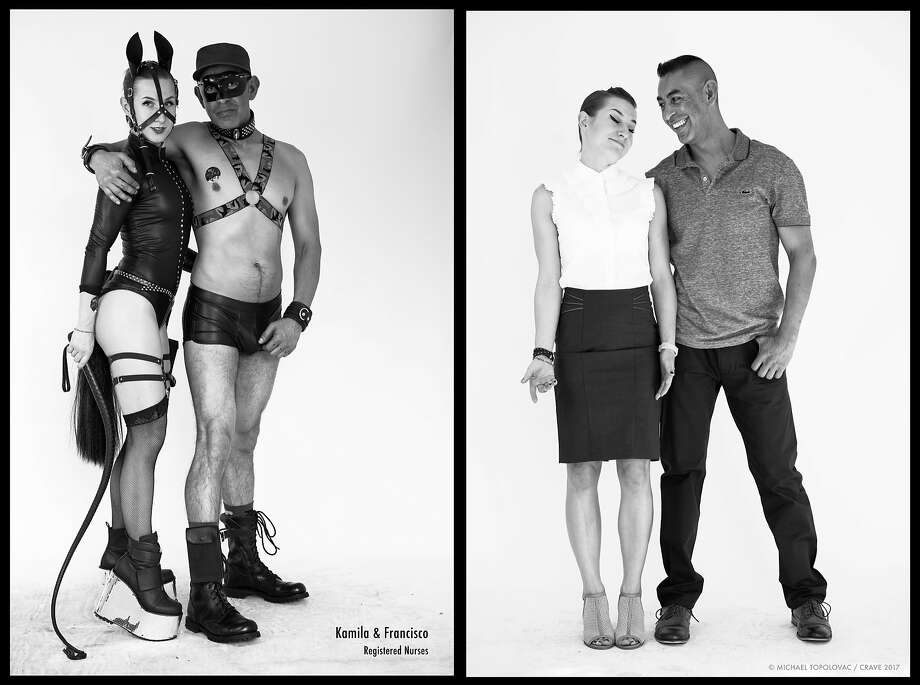 A new online photo exhibition shows the diversity of human sexual expression as seen at the Folsom Street Fair. The portraits were taken by Michael Topolovac, a co-founder of Crave luxury sex toys for women, based in San Francisco. The exhibit, with photos of fair-goers in costume, and later, in street clothes, aims to show the complexity of the private and personal expression of self. Photo: Michael Topolovac
