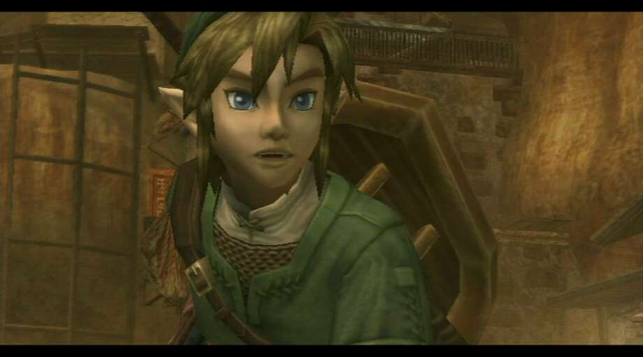 """""""The Legend of Zelda: Twilight Princess"""" packs killing, puzzle-solving and fishing into a great new adventure game. (Nintendo)"""