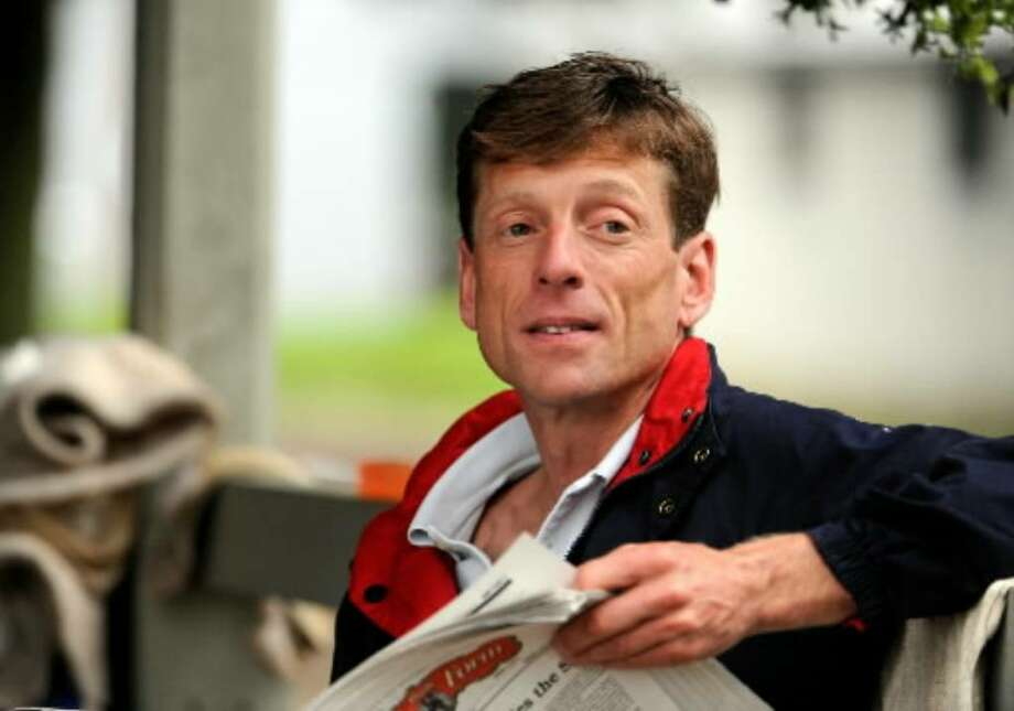 Journeyman jockey and local favorite Richard Migliore at Saratoga Race Course in July 2008. (Skip Dickstein / File photo)