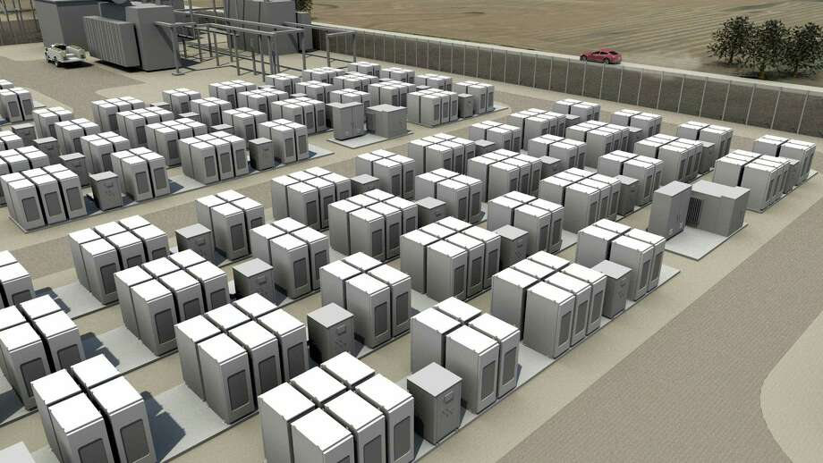 Tesla's new Powerpack product is an energy storage system of lithium-ion batteries intended to power businesses and link into electric grids.